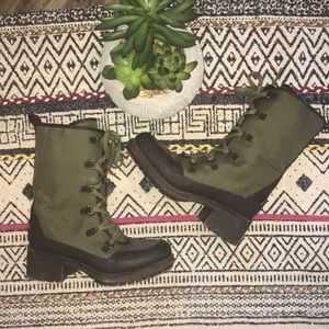Lucky Brand Alascan Hiking Boots Lace Up Size 7